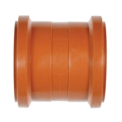Polypipe 110mm Double Socket Polypropylene