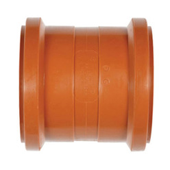 Polypipe 160mm Double Socket Polypropylene
