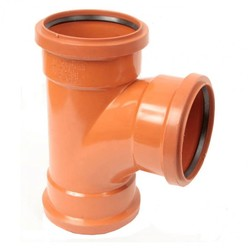 Polypipe 160mm Triple Socket 87.5Deg Equal
