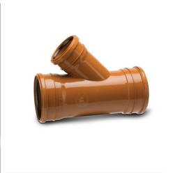 Polypipe 160mm Triple Socket 45Deg  Unequal