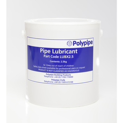 Polypipe Soluble Lubricant 2.5Kg
