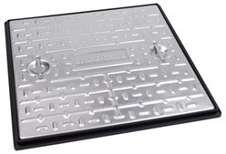 Steel Manhole Cover 600X600mm + Frame