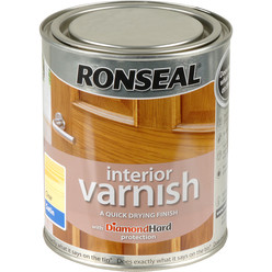 Ronseal Interior Varnish Clear Satin 750ml
