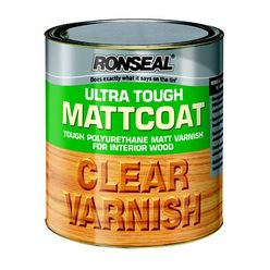 Ultra Tough Varnish Matt Coat 2.5Ltr