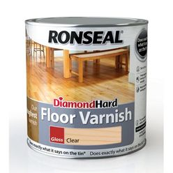 Diamond Hard Floor Varnish Satin 2.5Ltr
