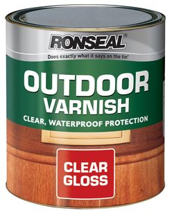 Outdoor Varnish Clear Gloss 750ml