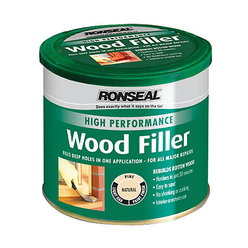 High Performance Wood Filler Natural 275g
