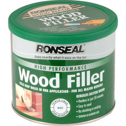 High Performance Wood Filler White 550g
