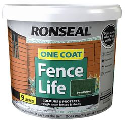 One Coat Fencelife Forest Green 10L
