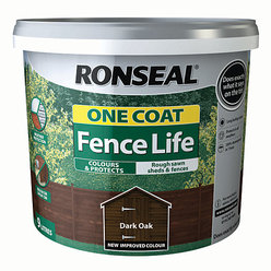 One Coat Fencelife Dark Oak 10L