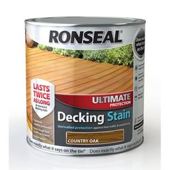 Ultimate Decking Stain Country Oak 2.5L