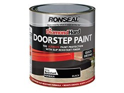 Diamond Door Step Paint Black 250ml