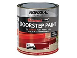 Diamond Door Step Paint Tile Red 250ml