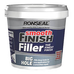 Big Hole Ready Mixed Filler White 1.2L