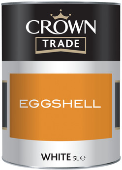 Crown Trade Eggshell White 5L
