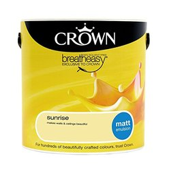Crown Trade Matt Vinyl Emulsion Sunrise 2.5L