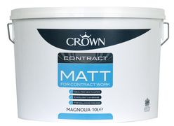 Contract Matt Emulsion Magnolia 10L
