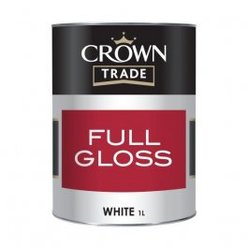 Crown Trade Gloss White 1L