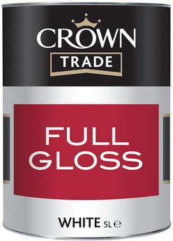Crown Trade Gloss Brilliant White 1L