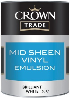 Crown Mid Sheen White 2.5L