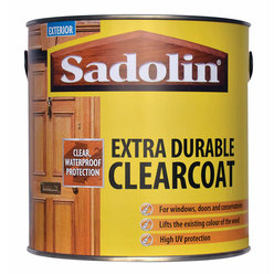 Sadolin Clear Coat Satin Clear 2.5Ltr
