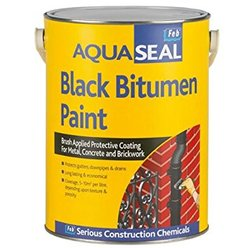 Aquaseal Bitumen Paint Black 25Ltr
