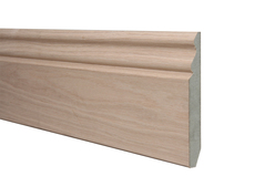 American White Oak 15x145mm Ogee Skirting