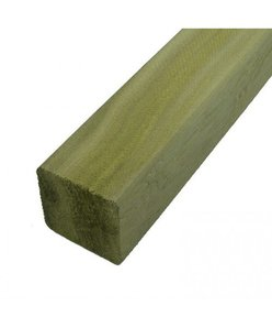 "Timber Fence Post 10 foot x 4"" x4"" (95mm approx)"
