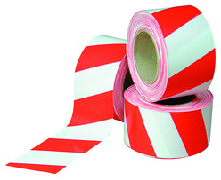 Barrier Tape Red/White 500M Roll