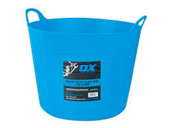 Pro Heavy Duty 42Ltr Flexi Tub (BLUE)