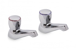 PAIR Avanti Bath Taps Chrome