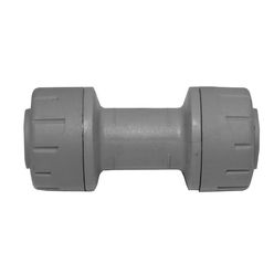 15mm Polyplumb Straight Coupler