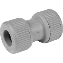 Push Fit Straight Coupler 22mm