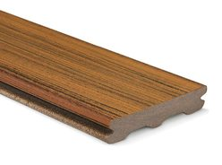 Trex Contour Grooved Deck Board Torino Brown