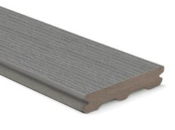 Trex Contour Grooved Deck Board Pebble Grey