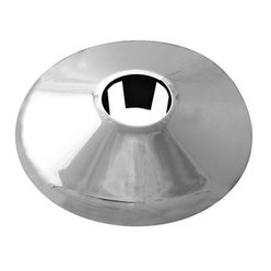 15mm chrome pipe cover plate