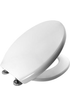 Cassis inox soft close seat & cover white