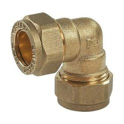 Copper pushfit 22mm 90 deg elbow