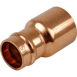 Copper pushfit 22x15mm fitting reducer