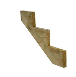 Decking Stair Stringer - 3 Tread