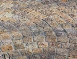 Granite Setts Beige 110 x 110  x 50mm