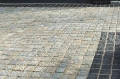 Granite Setts Silver 110  x 110 x 50mm