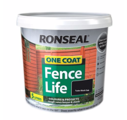 One Coat Fencelife Tudor Black Oak 5L