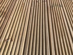 Red Pine Decking Board - Various Sizes