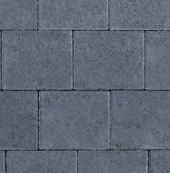 Shannon Smooth Block Paving - Charcoal