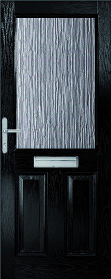 2XG Composite Door Set with clear glass