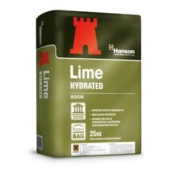Hanson Lime Hydrated Cement 25Kg