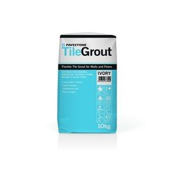 Pavestone Colourfast 360 Tile grout for Porcelain 10kg Ivory 06100003