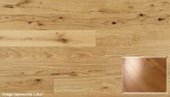 Rustic Lacquered Oak Real Wood Engineered 14mm