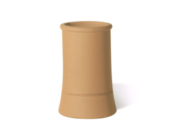 Traditional Buff Clay Chimney Pot